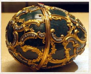 Faberge Egg with Diamond