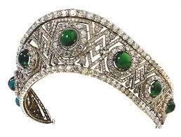 Diamond and Emerald Kokoshnik for a Grand Duchess